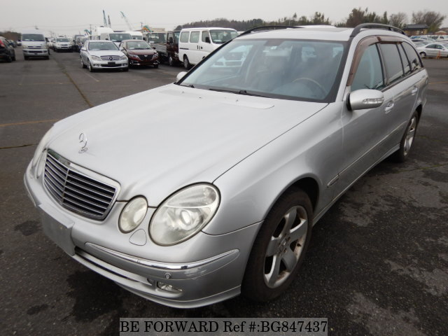 Used 2004 MERCEDES-BENZ E-CLASS BG847437 for Sale