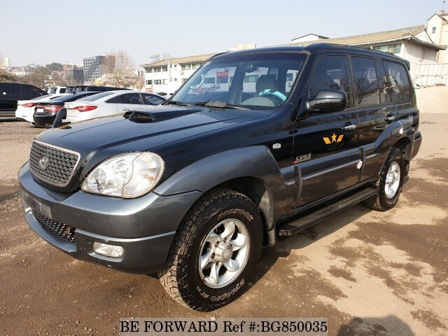 Used 2005 HYUNDAI TERRACAN BG850035 for Sale