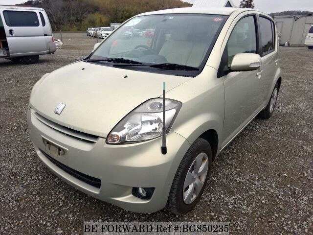 Used 2007 TOYOTA PASSO BG850235 for Sale