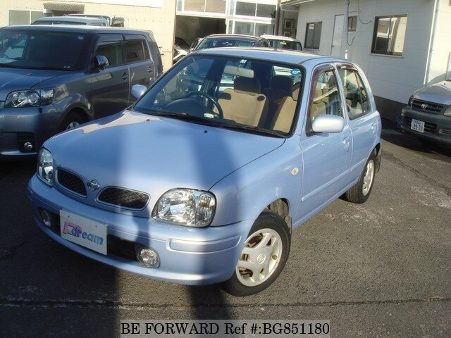 Used 2000 NISSAN MARCH BG851180 for Sale