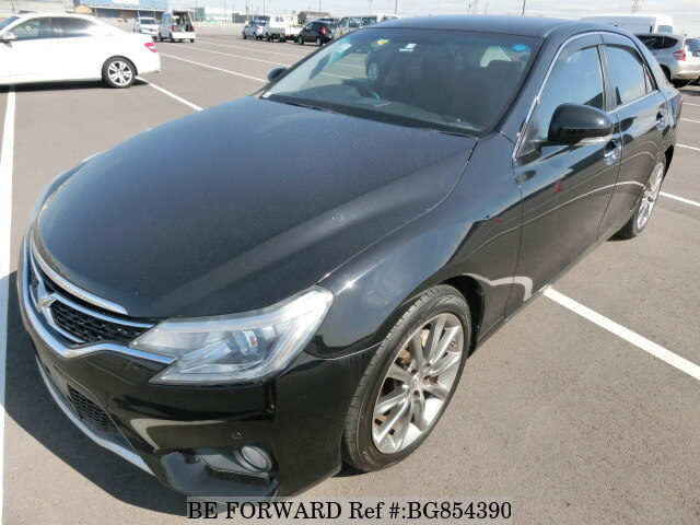 Used 2013 TOYOTA MARK X BG854390 for Sale