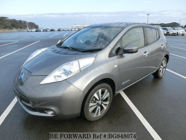 Used 2017 NISSAN LEAF BG848074 for Sale