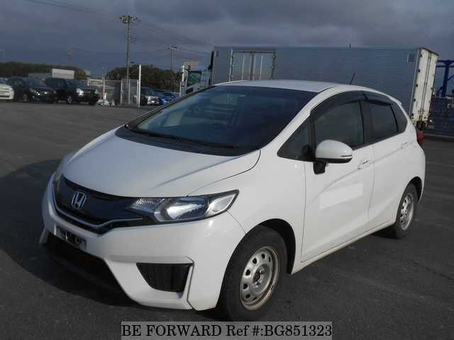 Used 2015 HONDA FIT BG851323 for Sale