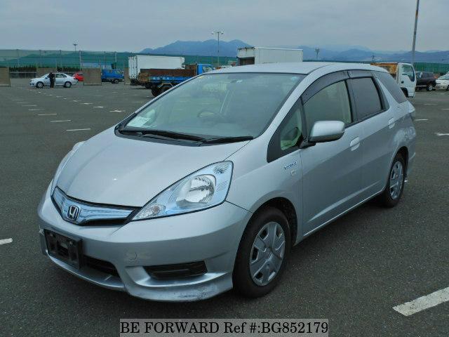 Used 2012 Honda Fit Shuttle Hybrid C Daa Gp2 For Sale Bg852179 Be Forward