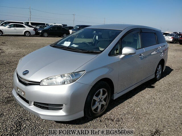 Used 2012 TOYOTA WISH BG856088 for Sale