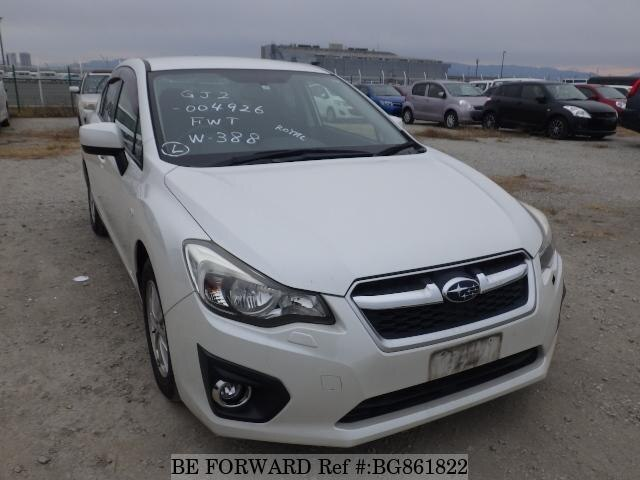 Used 2013 SUBARU IMPREZA BG861822 for Sale