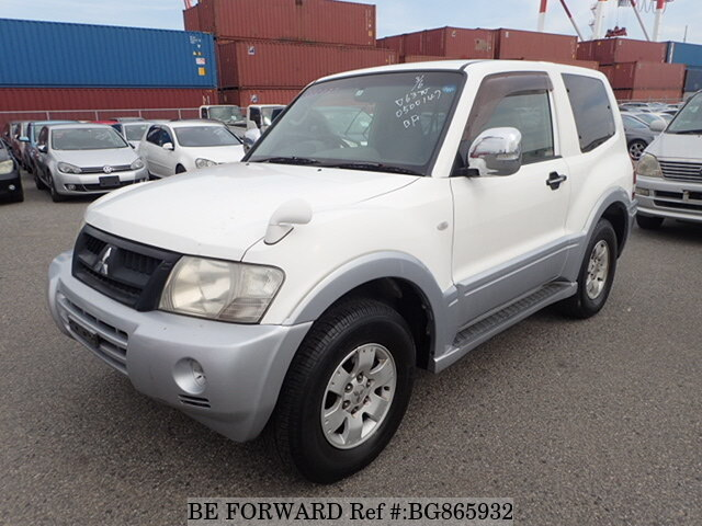 Used 2005 MITSUBISHI PAJERO BG865932 for Sale