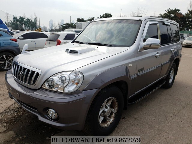 Used 2002 HYUNDAI TERRACAN BG872079 for Sale
