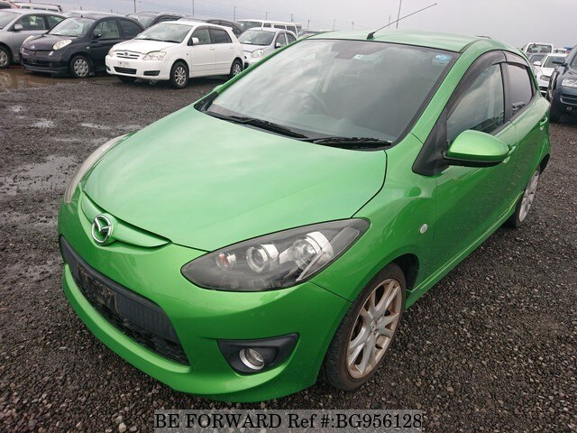 Used 2009 MAZDA DEMIO BG956128 for Sale