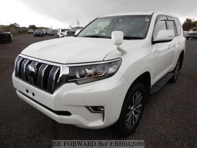 Used 2018 TOYOTA LAND CRUISER PRADO BH042086 for Sale