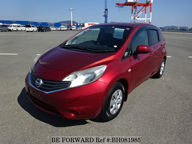 Used 2012 NISSAN NOTE BH081985 for Sale