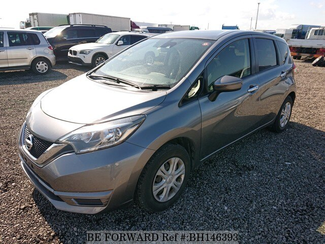 Used 2017 NISSAN NOTE BH146393 for Sale
