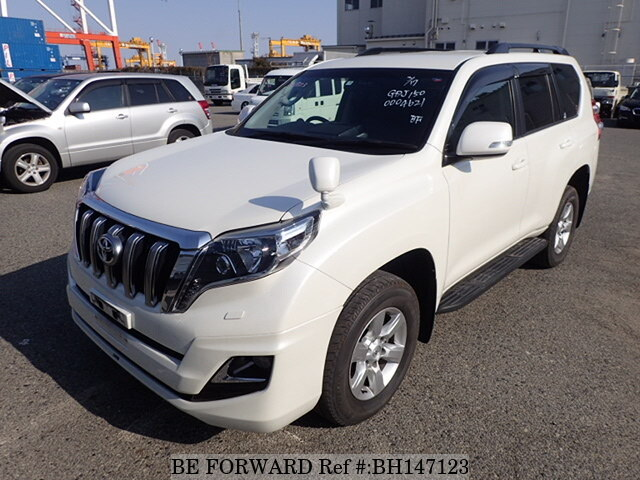 Used 2015 TOYOTA LAND CRUISER PRADO BH147123 for Sale