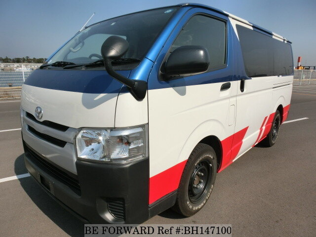 Used 2015 TOYOTA REGIUSACE VAN BH147100 for Sale