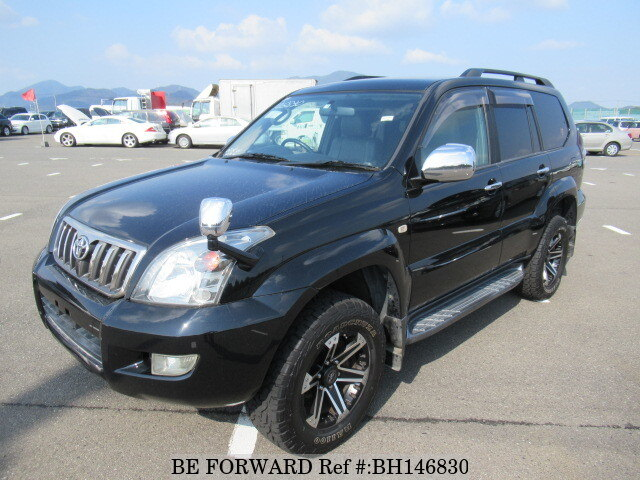 Used 2006 TOYOTA LAND CRUISER PRADO BH146830 for Sale