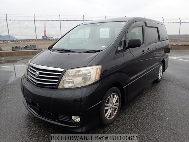 Used 2002 TOYOTA ALPHARD BH160611 for Sale