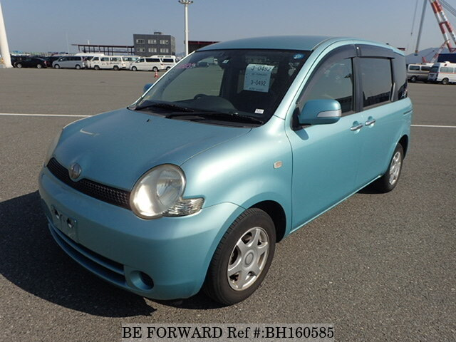 Used 2005 TOYOTA SIENTA BH160585 for Sale
