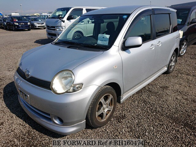 Used 2005 TOYOTA SIENTA BH160474 for Sale