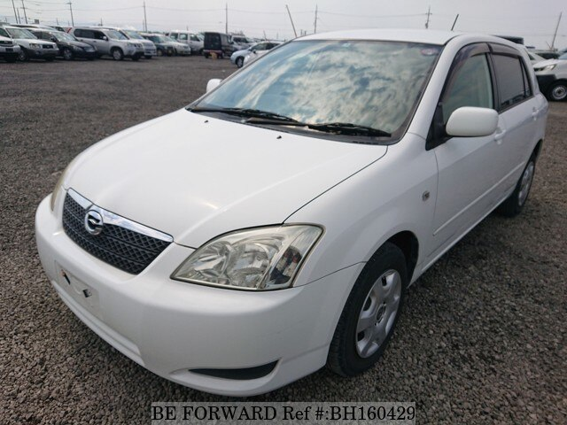 Used 2004 TOYOTA COROLLA RUNX BH160429 for Sale