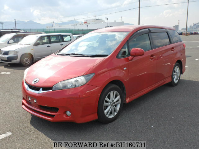 Used 2010 TOYOTA WISH BH160731 for Sale