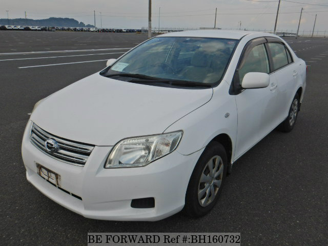 Used 2008 TOYOTA COROLLA AXIO BH160732 for Sale