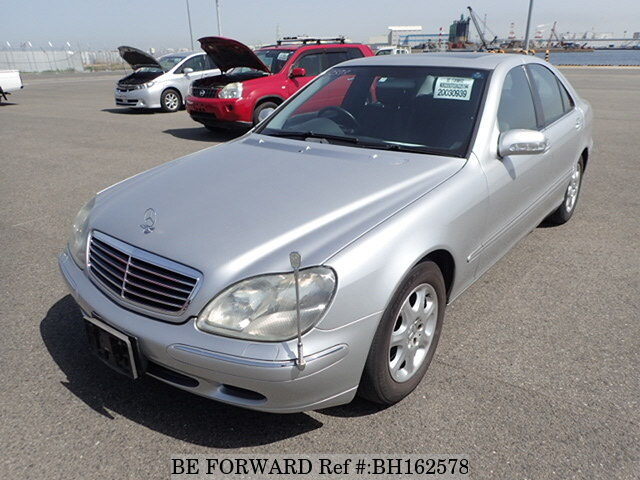 Used 2002 MERCEDES-BENZ S-CLASS BH162578 for Sale