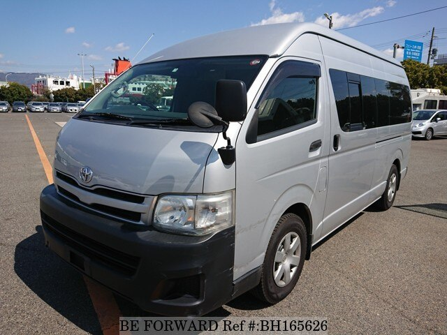 Used 2011 TOYOTA HIACE VAN BH165626 for Sale