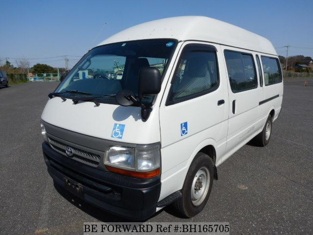 Used 2000 TOYOTA HIACE COMMUTER BH165705 for Sale