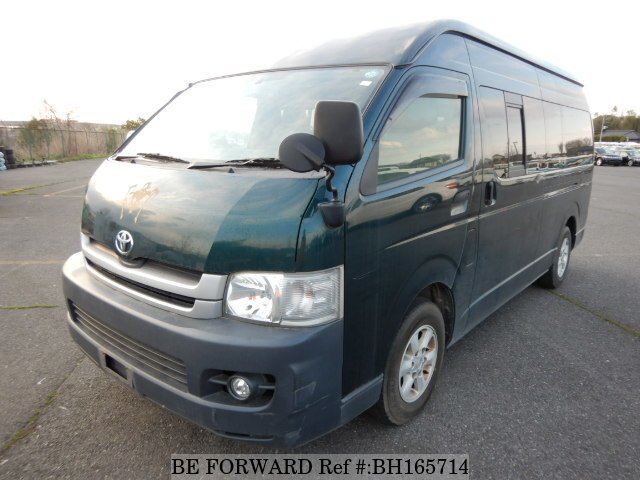 Used 2010 TOYOTA HIACE VAN BH165714 for Sale