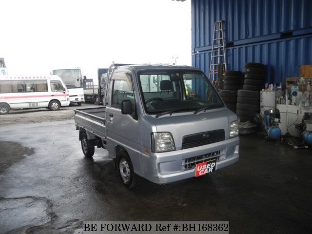 Used 2003 SUBARU SAMBAR TRUCK BH168362 for Sale