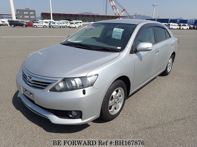Used 2012 TOYOTA ALLION BH167876 for Sale