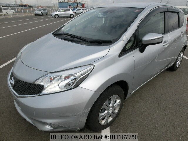 Used 2015 NISSAN NOTE BH167750 for Sale