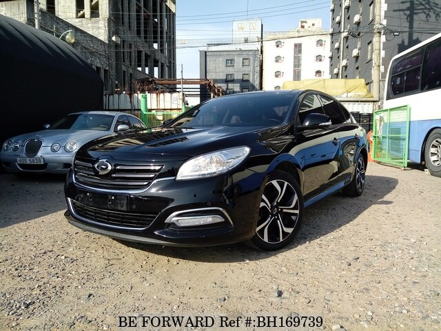 Used 2016 RENAULT SAMSUNG SM7 BH169739 for Sale