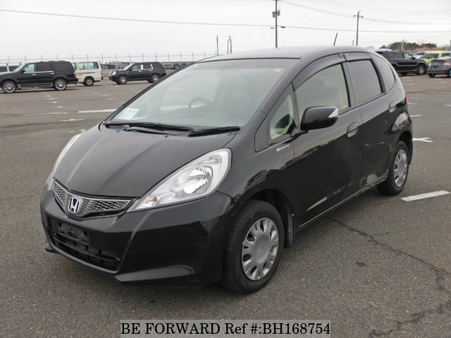 Used 2012 HONDA FIT BH168754 for Sale