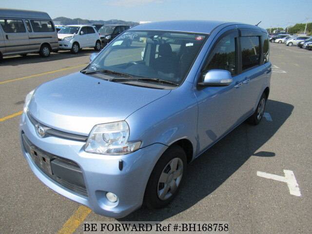 Used 2011 TOYOTA SIENTA BH168758 for Sale