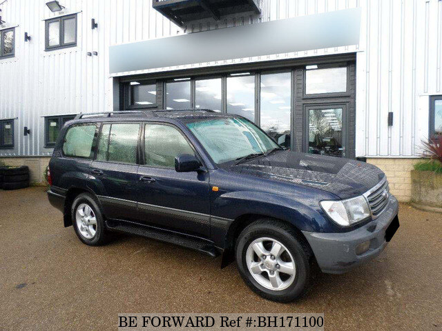 Used 2004 TOYOTA LAND CRUISER AMAZON BH171100 for Sale