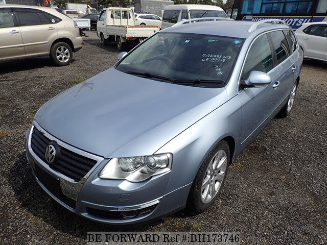 Used 2007 VOLKSWAGEN PASSAT VARIANT BH173746 for Sale