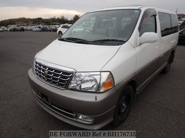 Used 2001 TOYOTA GRAND HIACE BH176735 for Sale