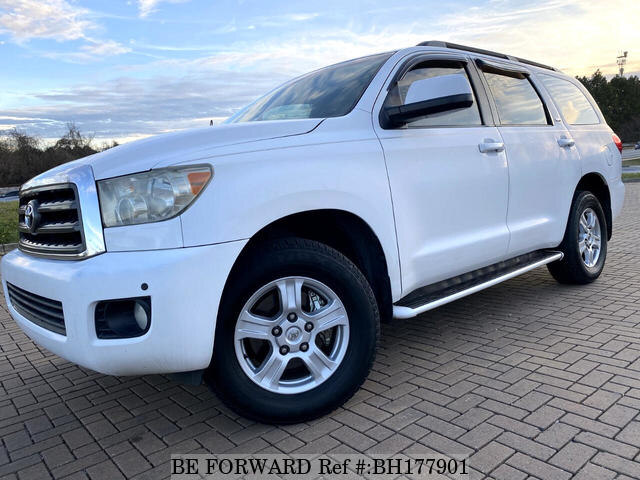 Used 2008 TOYOTA SEQUOIA BH177901 for Sale