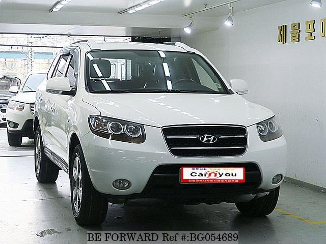 Used 2009 HYUNDAI SANTA FE BG054689 for Sale