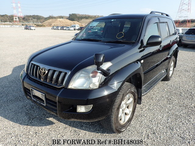 Used 2008 TOYOTA LAND CRUISER PRADO BH148038 for Sale