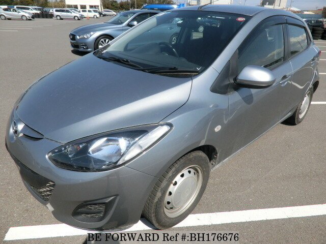Used 2014 MAZDA DEMIO BH176676 for Sale