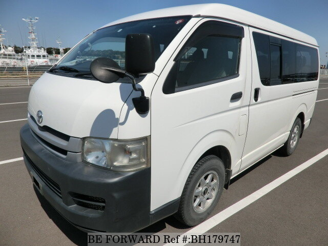 Used 2008 TOYOTA HIACE WAGON BH179747 for Sale
