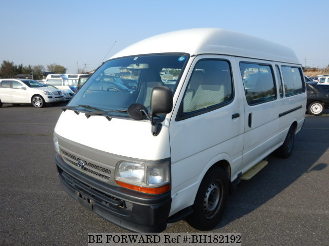 Used 2004 TOYOTA HIACE COMMUTER BH182192 for Sale