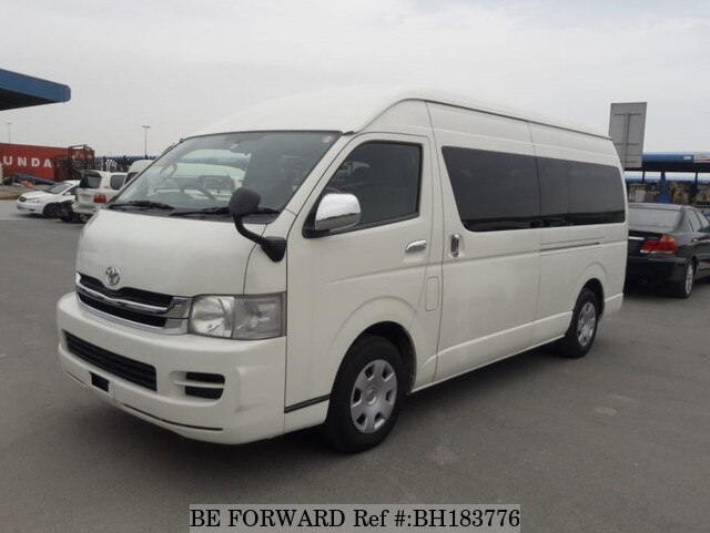 Used 2010 TOYOTA HIACE COMMUTER BH183776 for Sale