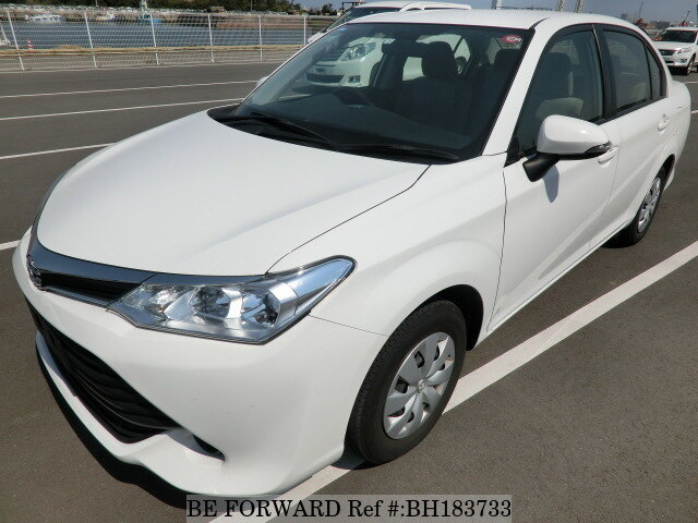 Used 2016 TOYOTA COROLLA AXIO BH183733 for Sale