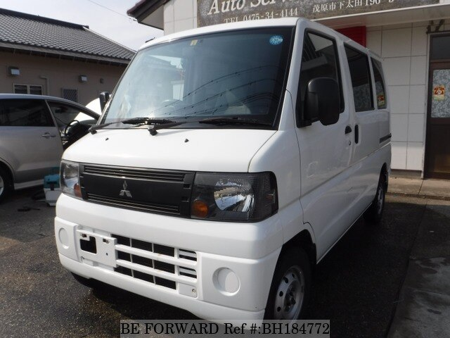 Used 2008 MITSUBISHI MINICAB VAN BH184772 for Sale