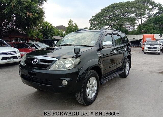 Used 2006 TOYOTA FORTUNER BH186608 for Sale