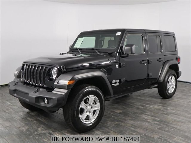 Used 2020 Jeep Wrangler Unlimited For Sale Bh187494 Be Forward