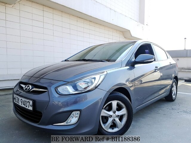 Used 2013 HYUNDAI ACCENT BH188386 for Sale